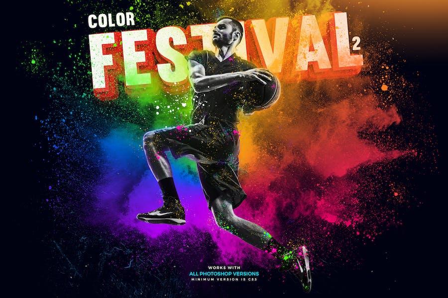 Color Fetival 2 Photoshop Action