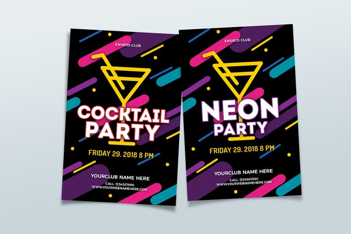 Fête au néon/Cocktail