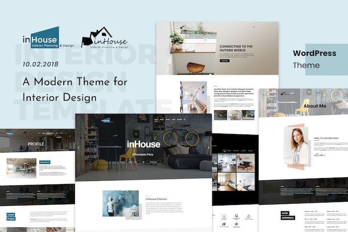 Thumbnail for Inhouse | Modern Design Interior WordPress Theme