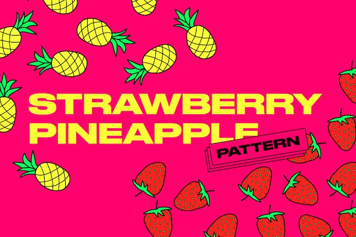 Thumbnail for Strawberry&Pineapple Pattern