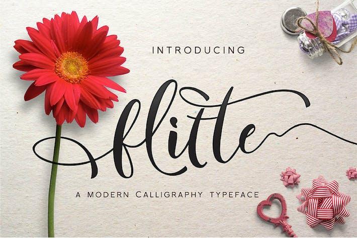 Thumbnail for Flitte - Caligrafía moderna