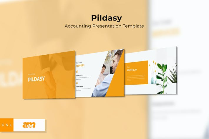 Thumbnail for Pildasy Accounting Google Slides