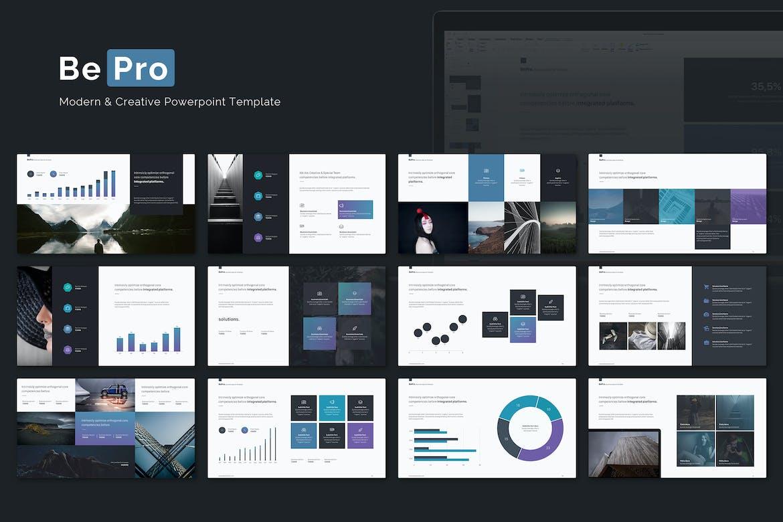 bizone creative multipurpose powerpoint template by simplesmart