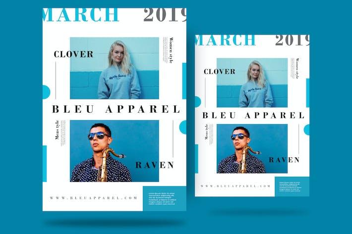 Thumbnail for Bleu Flyer