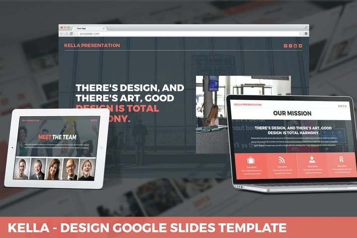 Thumbnail for Kella - Design Google Slides Template