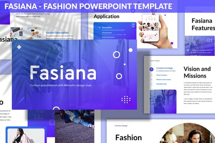 Fasiana - Fashion Powerpoint Template