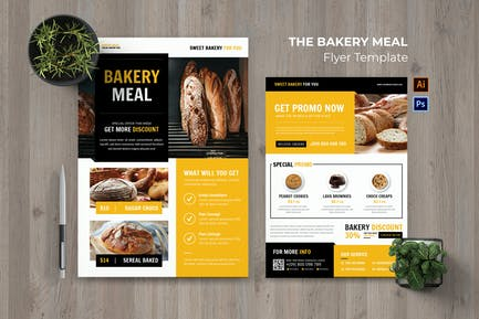 Bakery Meal Flyer