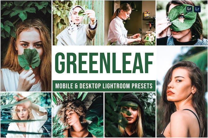 Пресеты Lightroom для мобильных и настольных ПК Greenle