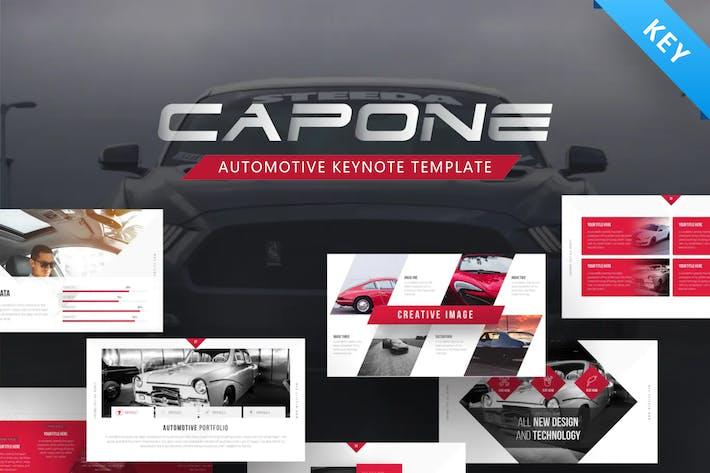 Thumbnail for Capone Automotive Keynote Presentation Template