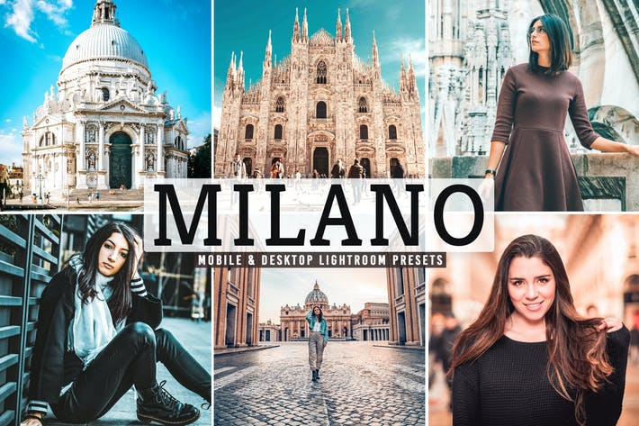 Thumbnail for Milano Mobile & Desktop Lightroom Presets