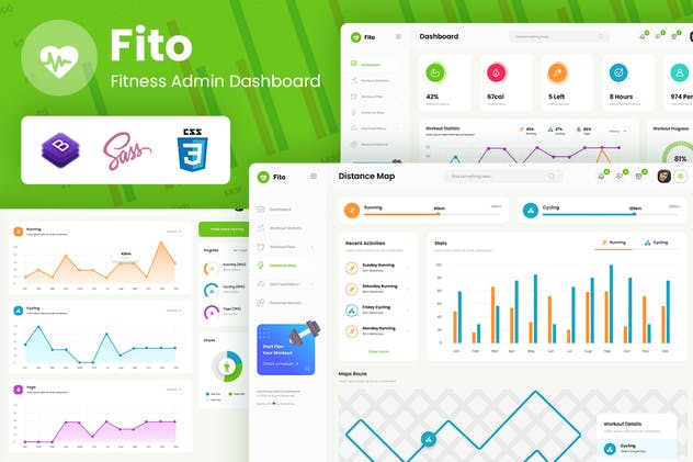 Fito - Fitness Admin React Dashboard Template