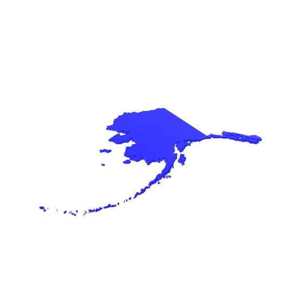 Alaska Counties Map