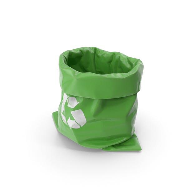 Мешок для мусора Зеленый
