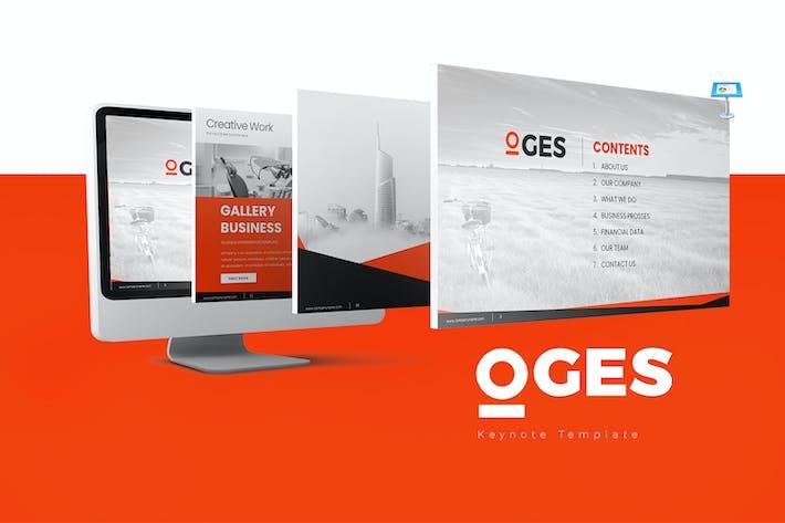 Thumbnail for Шаблоны Keynote OGES