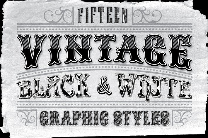 Thumbnail for Vintage Black and White Styles