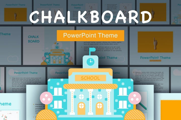 Thumbnail For Chalkboard Point Template