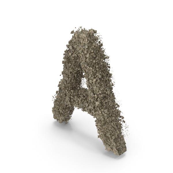 Thumbnail for Destruction Stone Letter A