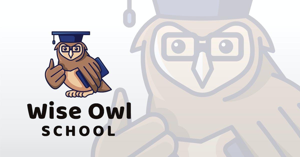 Download Wise Owl School Logo Template by IanMikraz