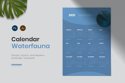 Waterfauna Calendar