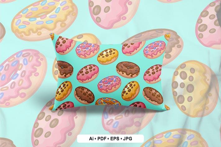Thumbnail for Donuts Nahtloses Muster