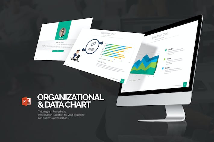 Thumbnail for Organizational & Data Chart Presentation