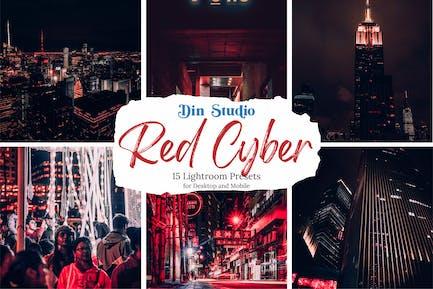 Пресеты Red Cyber Lightroom