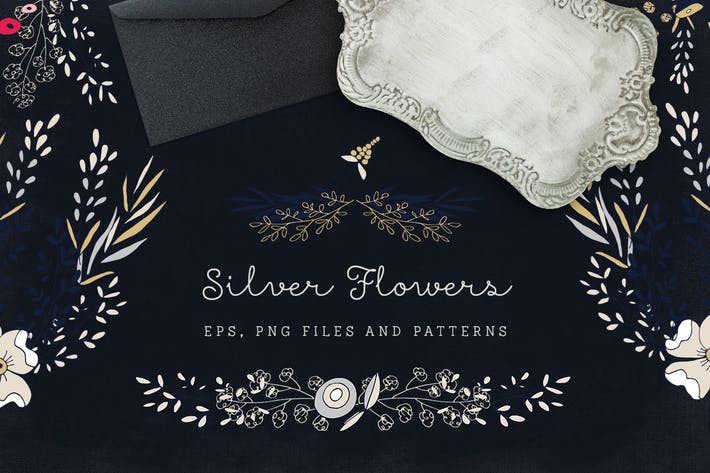 Thumbnail for Silver Flowers