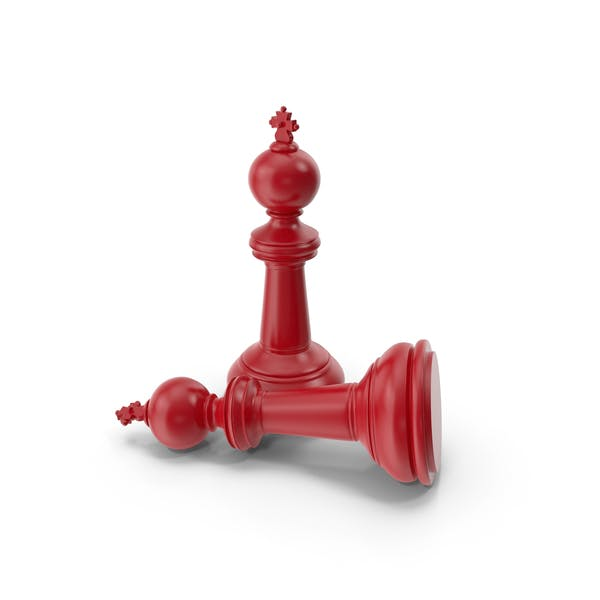 Chess King Red