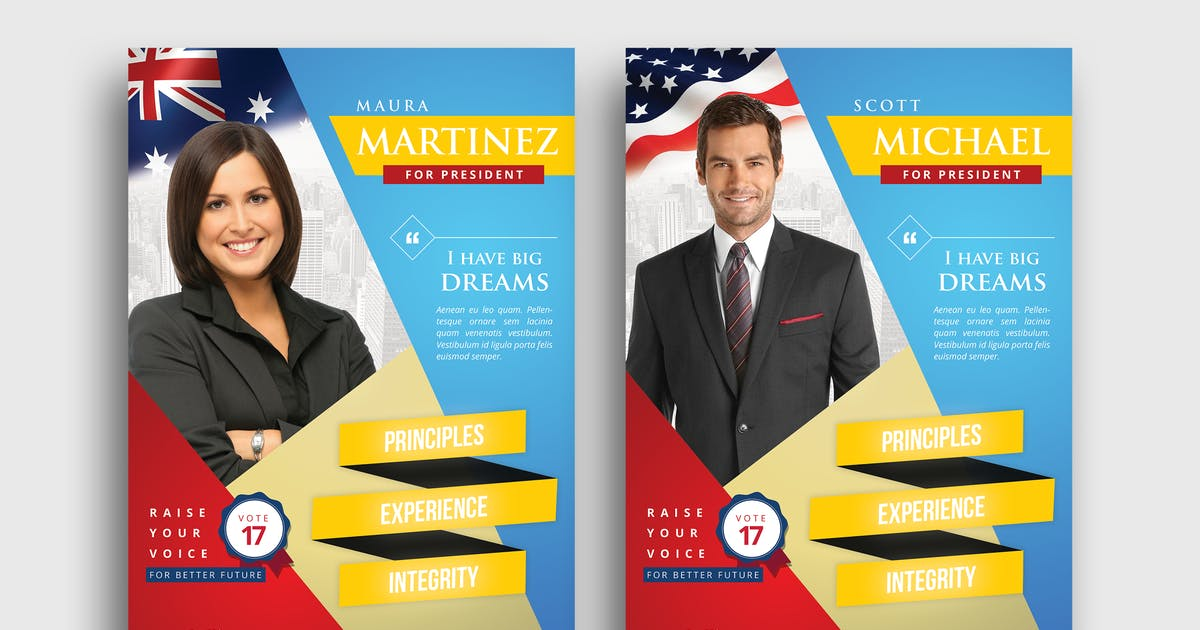 Election Campaign Flyer By Hindiamaya On Envato Elements