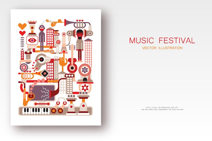 Thumbnail for Music Festival vector illustration