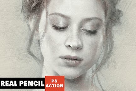 Real Pencil Photoshop Action