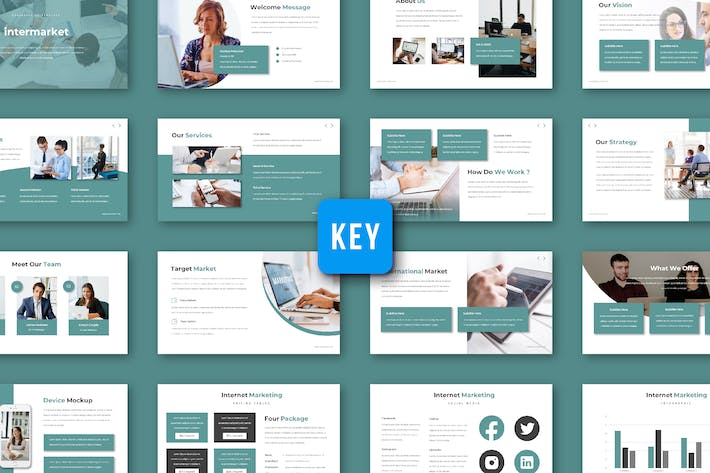 Thumbnail for Intermarket - Keynote Template