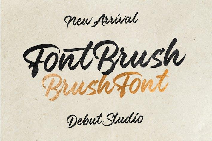Font Brush - Brush Font