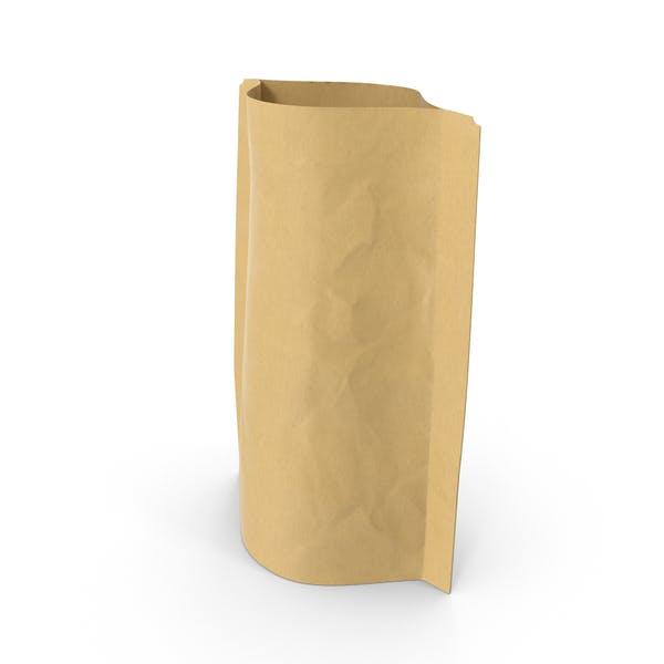 Thumbnail for Bolsa con cremallera de pie, 28 g, abierta