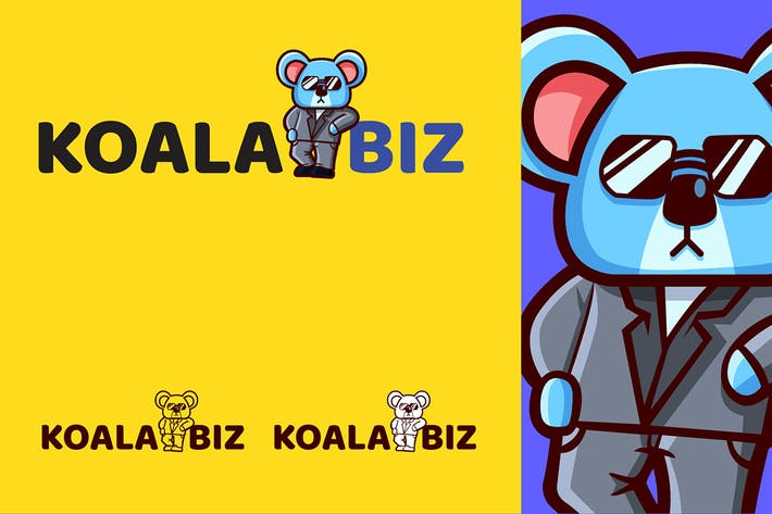 Thumbnail for KOALABIZ - Mascot & Esport Logo