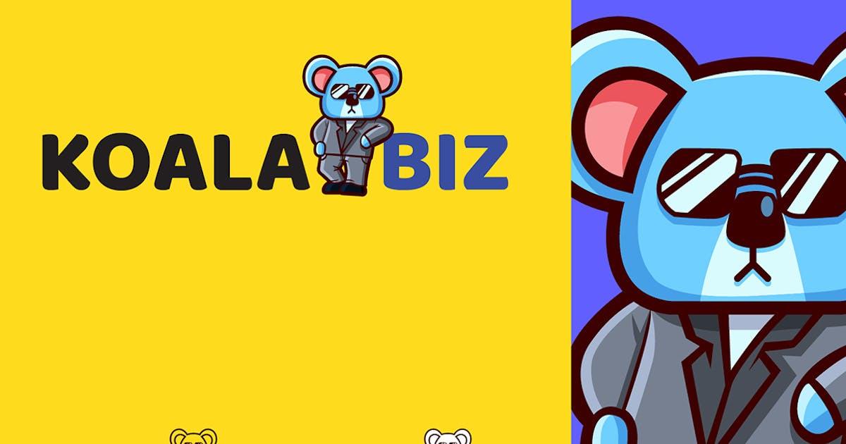 Download KOALABIZ - Mascot & Esport Logo by aqrstudio