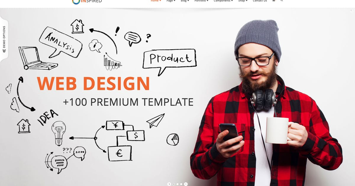 Download Inspired - Corporate and Creative WordPress Theme by cththemes
