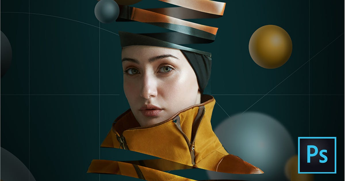 Download Escher Ribbon FX Photoshop Add-On Extension by Giallo