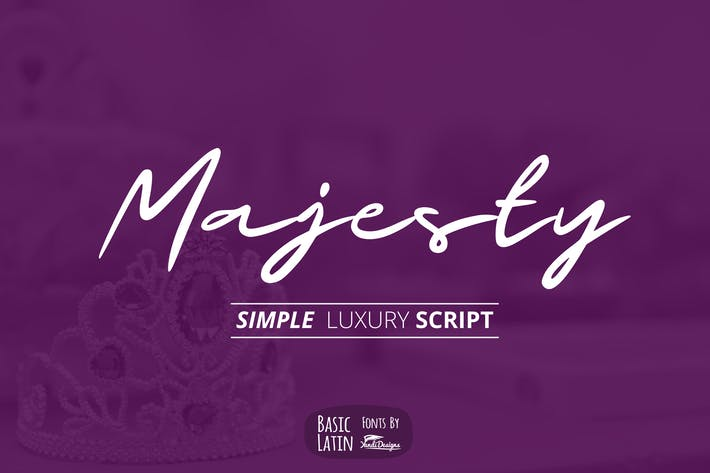 Thumbnail for Majesty Luxury Font