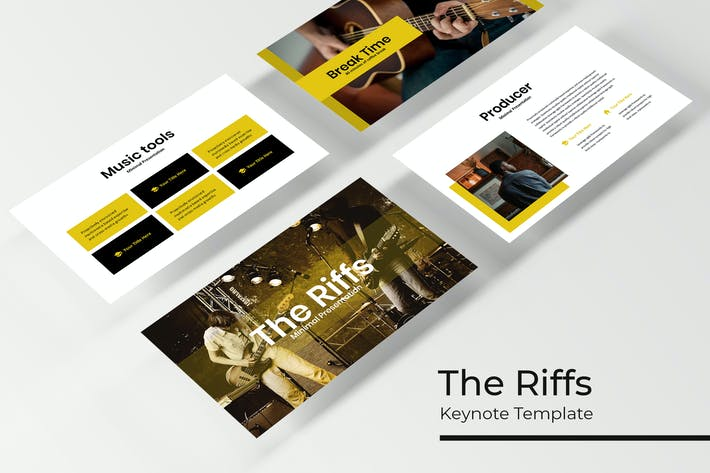 Thumbnail for The Riffs - Keynote Template