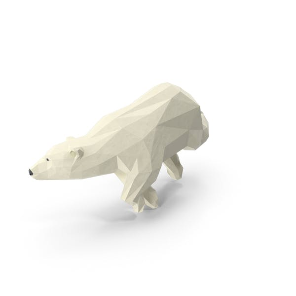 Low Poly Polar Bear