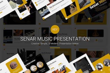 Senar Music - Keynote Template