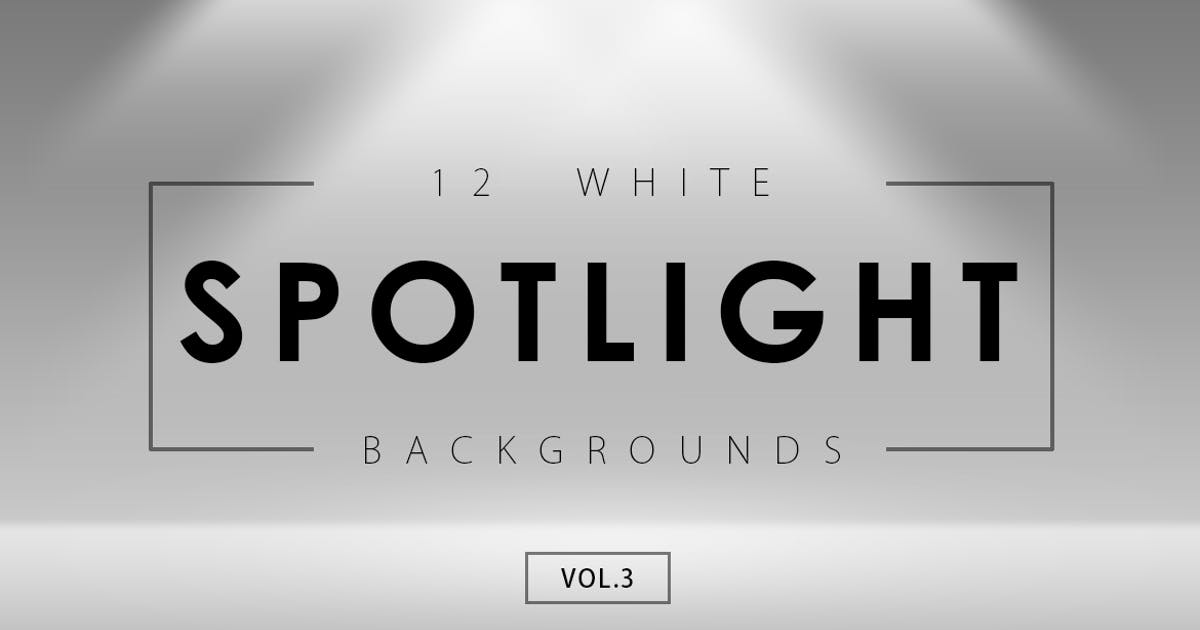 Download 12 White Spotlight Backgrounds 3 by M-e-f