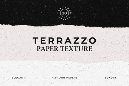 Terrazzo Textured Paper Bundle