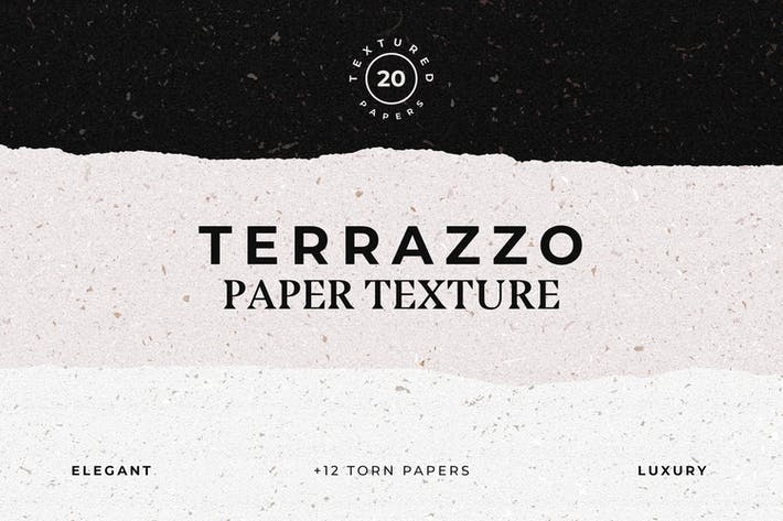 Thumbnail for Terrazzo Textured Paper Bundle