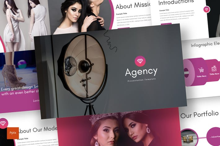 Thumbnail for Agency - Powerpoint Template