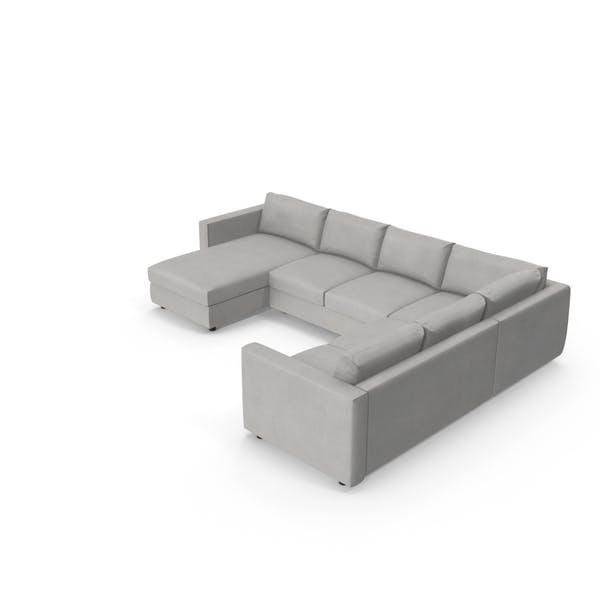 Thumbnail for Scandinavian Sectional Sofa