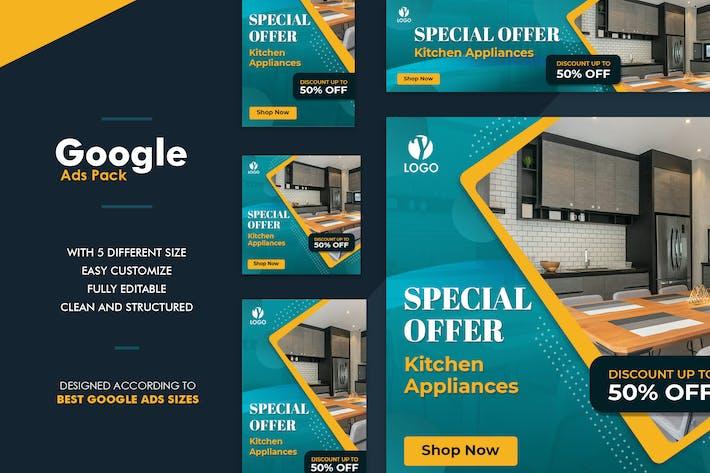 Thumbnail for Google Ads Web Banner Interior