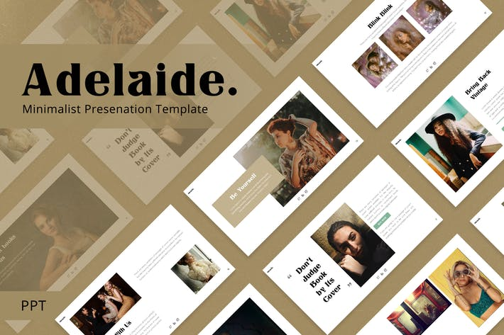 Thumbnail for Adelaide - Retro Powerpoint Template