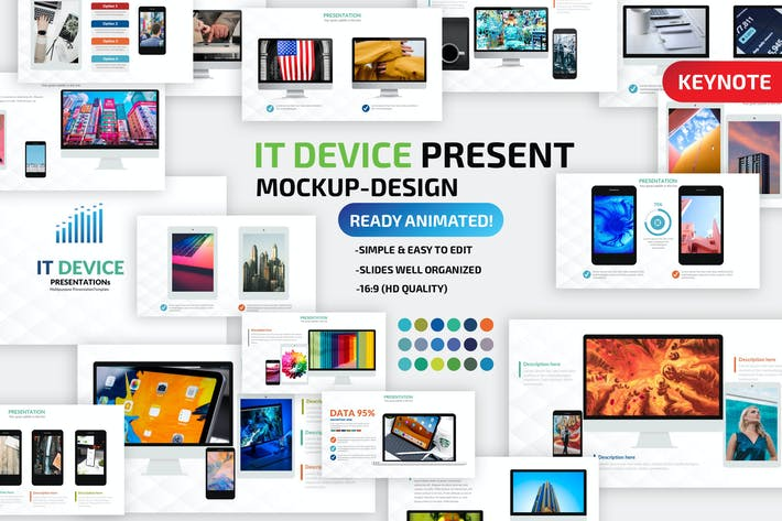 Thumbnail for IT Device Keynote Presentation